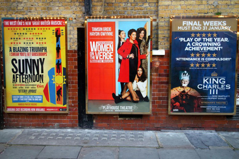 Mercaspin Pautas en medios OOH anuncios teatro
